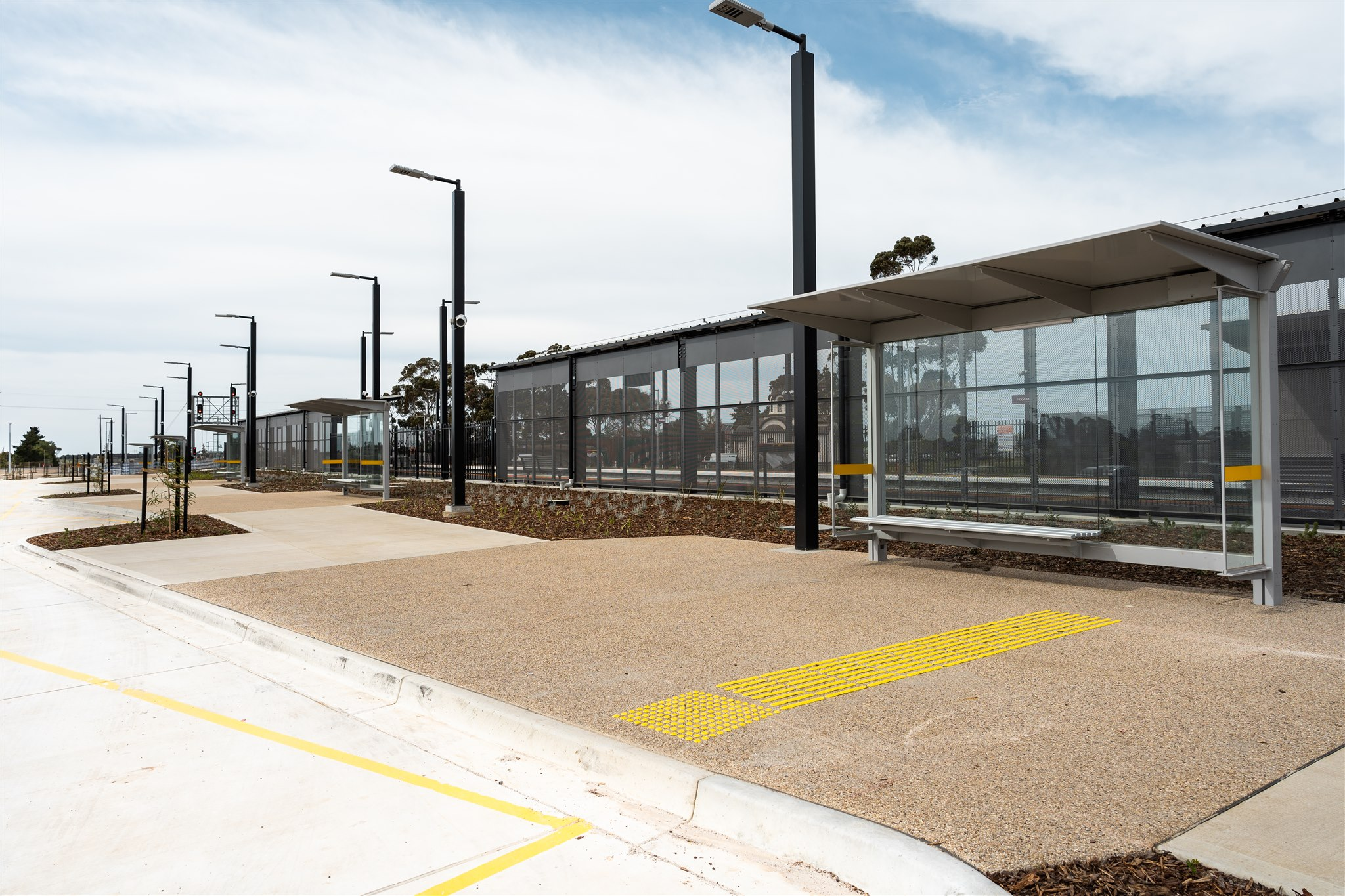 Monero Constructions / Rockbank Train Station